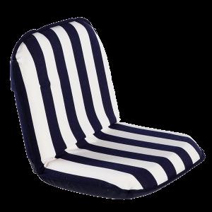 Comfort seat classic Blue/white stripe